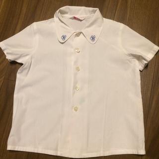 ユキトリイインターナショナル(YUKI TORII INTERNATIONAL)のトリイユキ   幼稚園 制服 ブラウス 半袖110  (ブラウス)