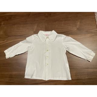 ユキトリイインターナショナル(YUKI TORII INTERNATIONAL)のトリイユキ  幼稚園 ブラウス 長袖 110 2枚(ブラウス)