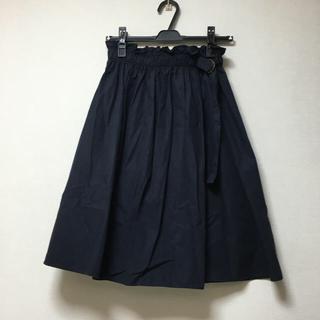 ストラ(Stola.)の巻きスカート風 タイプライタースカート(ひざ丈スカート)