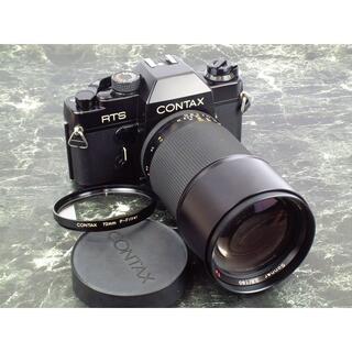 キョウセラ(京セラ)のCONTAX RTS  + Sonnar 180mm F2.8 T* AEG(フィルムカメラ)