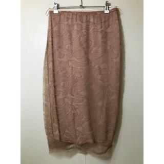 ヌメロヴェントゥーノ(N°21)のN°21  シャンティソーレーススカート(ひざ丈スカート)