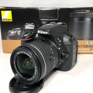 ニコン(Nikon)のNikon  D5300 AF-P18-55 AF-P 70-300レンズセット(デジタル一眼)