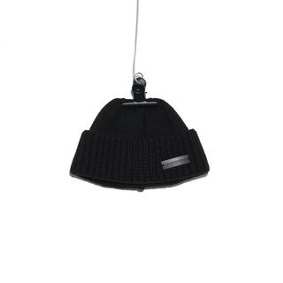 ピースマイナスワン(PEACEMINUSONE)のPMO KNIT CAP #5 BLACK(ニット帽/ビーニー)