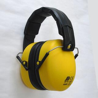 防音イヤーマフ EP-107☆規格EN352-1[中古美品]イエロー(その他)