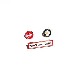 PEACEMINUSONE - PMO PIN SET #2 MULTI