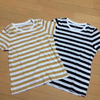 ムジルシリョウヒン(MUJI (無印良品))のボーダーT/無印良品(Tシャツ(半袖/袖なし))