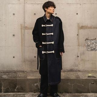 サンシー(SUNSEA)のKHOKI 20aw FALL COAT【サイズ2・新品未使用品】(ステンカラーコート)