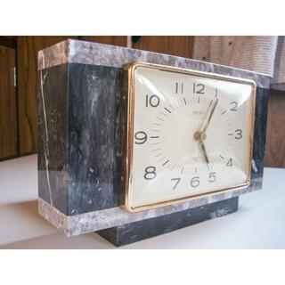 セイコー(SEIKO)のSEIKO・大理石の置き時計(置時計)