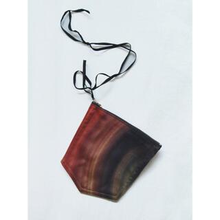 サンシー(SUNSEA)のMASU marble print pouch(キーホルダー)