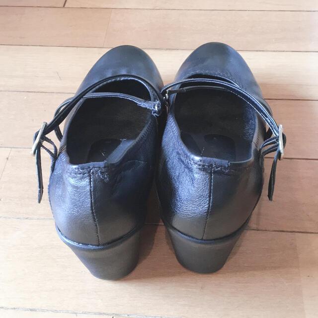 Re:getA(リゲッタ)のなつさや様専用リゲッタ パンプス 黒 レディースの靴/シューズ(ハイヒール/パンプス)の商品写真