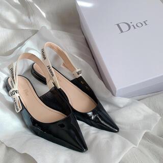 クリスチャンディオール(Christian Dior)のDior フラットシューズ 36(バレエシューズ)