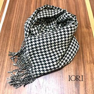イオリ(IORI)のIORI Plover pattern 千鳥柄マフラー(マフラー/ショール)