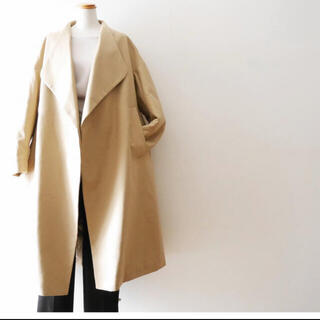 エンフォルド(ENFOLD)のエンフォルド トレンチ ノーカラー コート シミ確認用(トレンチコート)