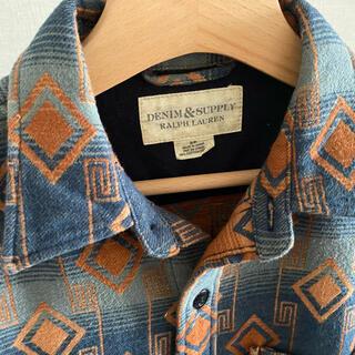 デニムアンドサプライラルフローレン(Denim & Supply Ralph Lauren)のDenim&supplyデニムアンドサプライ ネルシャツ(シャツ)
