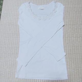 ダブルクローゼット(w closet)の長袖トップス(Tシャツ(長袖/七分))