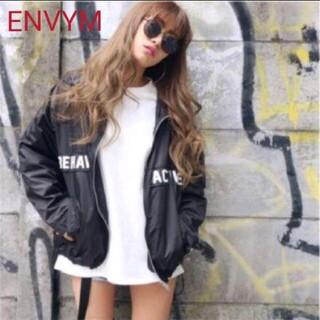 アンビー(ENVYM)のENVYM アンビー マウンテンパーカー ナイロン ジャケット パーカー⭐美品⭐(ナイロンジャケット)