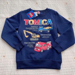 タカラトミー(Takara Tomy)のトミカ トレーナー 新品 120(Tシャツ/カットソー)