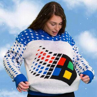 マイクロソフト(Microsoft)のMicrosoft windows セーター マイクロソフト(ニット/セーター)