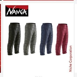 ナンガ(NANGA)のナンガ ダウンパンツ L ブラック(登山用品)