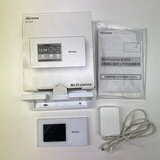 エヌティティドコモ(NTTdocomo)のWi-Fi station  NTTdocomo (PC周辺機器)