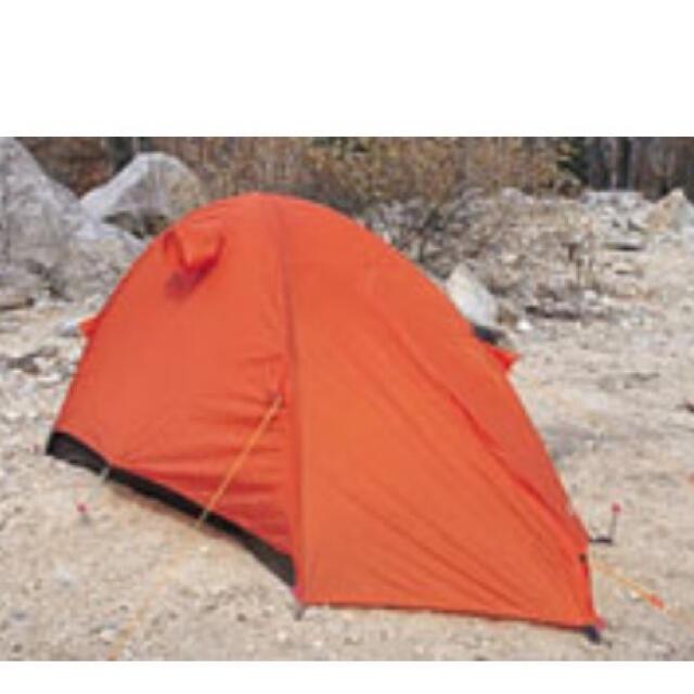 ARAI TENT(アライテント)のアライテント エアライズ1 オレンジ RIPEN 軽量 山岳テント 新品未使用 スポーツ/アウトドアのアウトドア(テント/タープ)の商品写真
