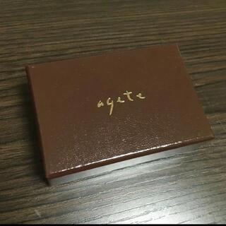 アガット(agete)のagete 小物ケース❤️(ショップ袋)
