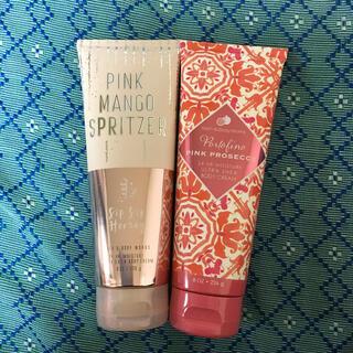 バスアンドボディーワークス(Bath & Body Works)のBath & Body Works Pink ボディークリームセット(ボディクリーム)