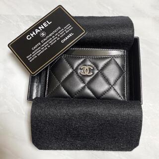 CHANEL - 【正規品】CHANEL  マトラッセ  ラムスキン  カードケース