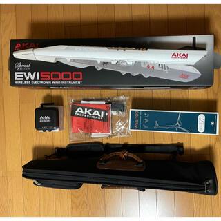 AKAI Professional EWI 5000WJ 美品・おまけ付(MIDIコントローラー)