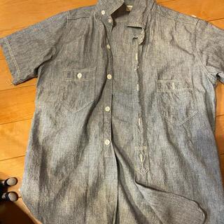 フリーホイーラーズ(FREEWHEELERS)の美品フリーホイラーズ 半袖シャンブレ 3点私から買うと千円引き(シャツ)