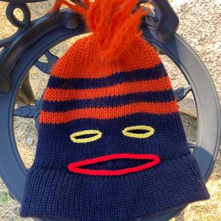 ヴィヴィアンウエストウッド(Vivienne Westwood)の希少 vivienne westwood ニット帽 目出し帽 パンク(ニット帽/ビーニー)