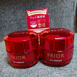 プリオール(PRIOR)のちはるこ様専用 プリオール ジェル美容液 つめかけ用 特製サイズ セット (美容液)