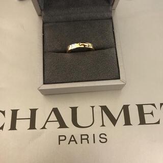 CHAUMET - CHAUMET リアン 18Kイエローゴールド×ダイヤモンドリング 美品