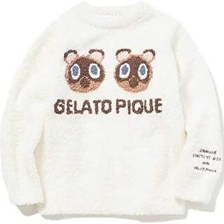 gelato pique - 【あつまれ どうぶつの森】つぶまめジャガード kids プルオーバーOWHT