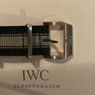 インターナショナルウォッチカンパニー(IWC)のIWC 純正NATO 20mm  mark18  美品(その他)