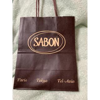 サボン(SABON)のsabon ショッパー 新品未使用品(ショップ袋)