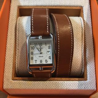 エルメス(Hermes)のHERMES ドゥブルトゥール 二重巻 自動巻時計(腕時計)