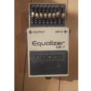 ボス(BOSS)のBOSS GE-7 (Equalizer)ジャンク(エフェクター)