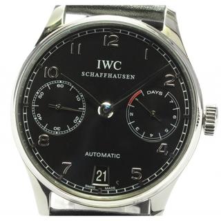 インターナショナルウォッチカンパニー(IWC)のIWC ポルトギーゼ パワーリザーブ IW500109 メンズ 【中古】(腕時計(アナログ))