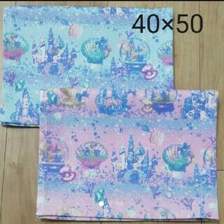 ランチョンマット マーメイド 貝殻 40×50(外出用品)