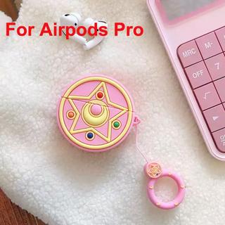 アップル(Apple)のAirPodsproケース セーラームーン(ヘッドフォン/イヤフォン)