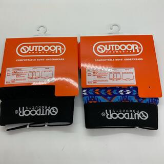 アウトドアプロダクツ(OUTDOOR PRODUCTS)の【OUTDOOR】アウトドア 子供 ボクサーブリーフ  2枚セット(下着)