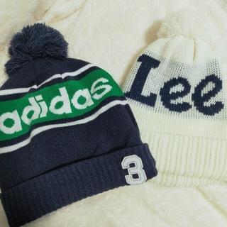 アディダス(adidas)のadidas、Leeニット帽セット(ニット帽/ビーニー)