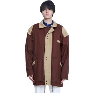 kolor - sullen tokyo leather docking blouson