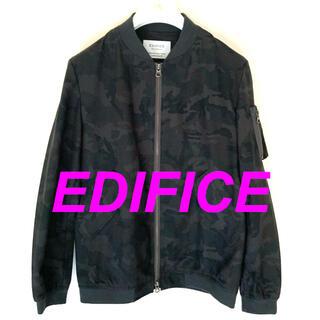 エディフィス(EDIFICE)のEDIFICE エディフィス ブルゾン ジャケット メンズ  迷彩柄 46(ブルゾン)