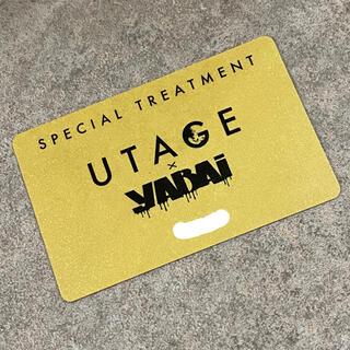 UTAGE  yABAi  ゴールドカード(その他)