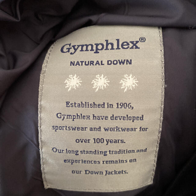 GYMPHLEX(ジムフレックス)の【Gymphlex】ナチュラルダウンジャケット レディースのジャケット/アウター(ダウンジャケット)の商品写真