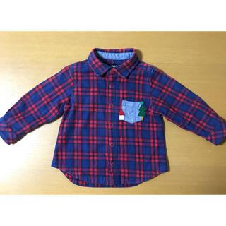 クレードスコープ(kladskap)のクレードスコープ チェックシャツ 80(シャツ/カットソー)