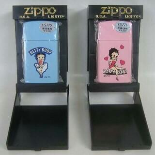 ジッポー(ZIPPO)の【未使用】Zippo ベティブープ スリムカラフルA・Cセット オイルライター(タバコグッズ)