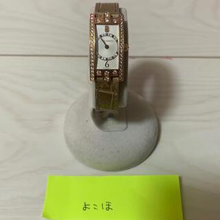 ハリーウィンストン(HARRY WINSTON)のハリーウィンストン アベニューミニ 純正ダイヤ 確実本物 定価約300万円(腕時計)